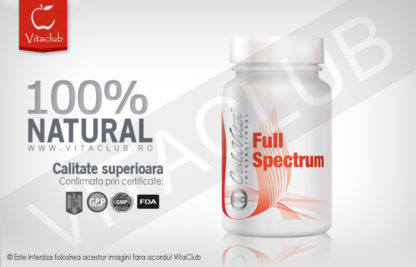 Produs natural Calivita Full Spectrum cu multivitamine