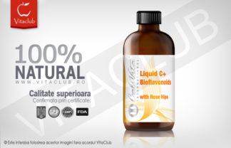 Vitamina C lichida Calivita cu bioflavonoide