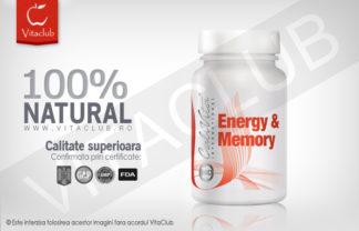 Produs Natural Calivita pentru putere de concentrare si rezistenta mai mare