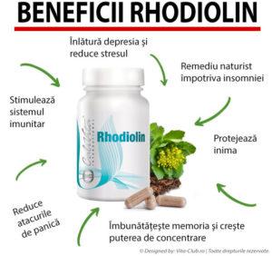 cum te ajuta rhodiolin de la Calivita