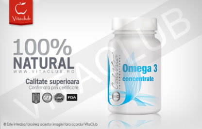 Concentrat de acizi grasi Omega 3