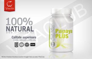 Produs natural Calivita cu enzime digestive din papaya