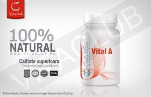 Vital A e un produs natural Calivita cu multivitamine
